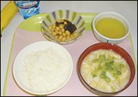 【朝食例】御飯